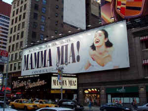 Mamma Mia broadway winter garden NYC