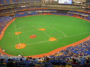 Toronto Blue Jays Game Field.